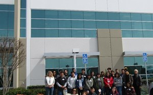 Hare Students Get Out-of-this-World Lesson During Visit to Virgin Orbit - article thumnail image