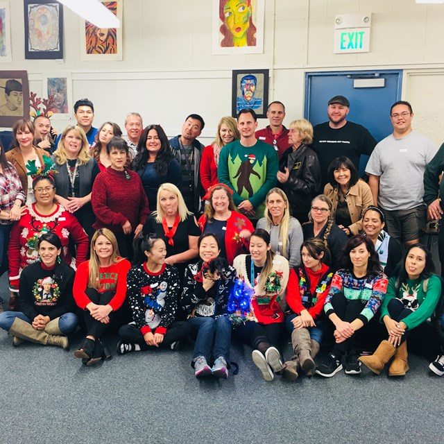 Hare's staff is more than excited to celebrate the holidays!
