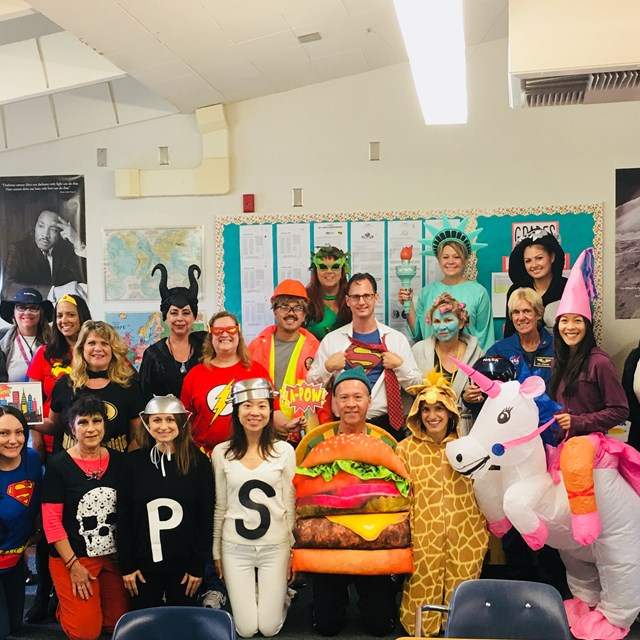 Hare High has some of the most creative and fun teachers around! Check out these amusing Halloween costumes!