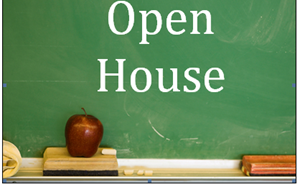 Open House - Wednesday, March 3, 6:00-7:00 - article thumnail image
